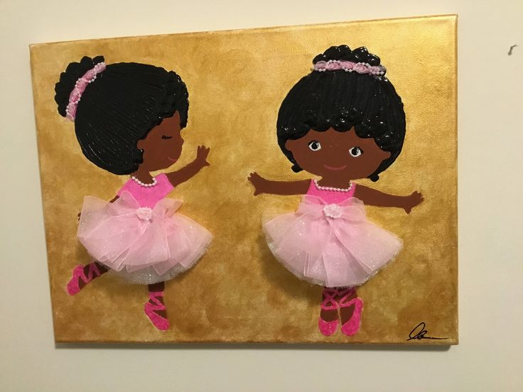 A personal favorite from my Etsy shop https://www.etsy.com/listing/522716610/twins-in-3d-ballet-dress