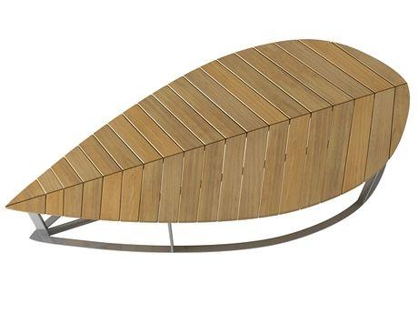 Deesawat Leaf Bench 3d model    N/A
