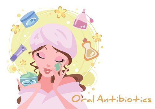 Use if: If the acne is moderate or severe, some home ingredients will be considered not strong enough to heal the skin. Instead of using wrong anti-acne ingredient, an oral antibiotic might be a fruitful treatment on top of a benzoyl-peroxide treatment. However, before taking the treatment, make sure you have contact your dermatologist for professional suggestions.