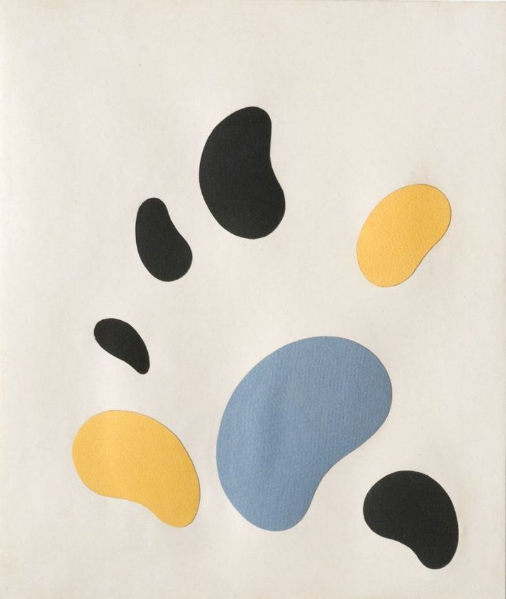 jean arp, constellation, 1960.