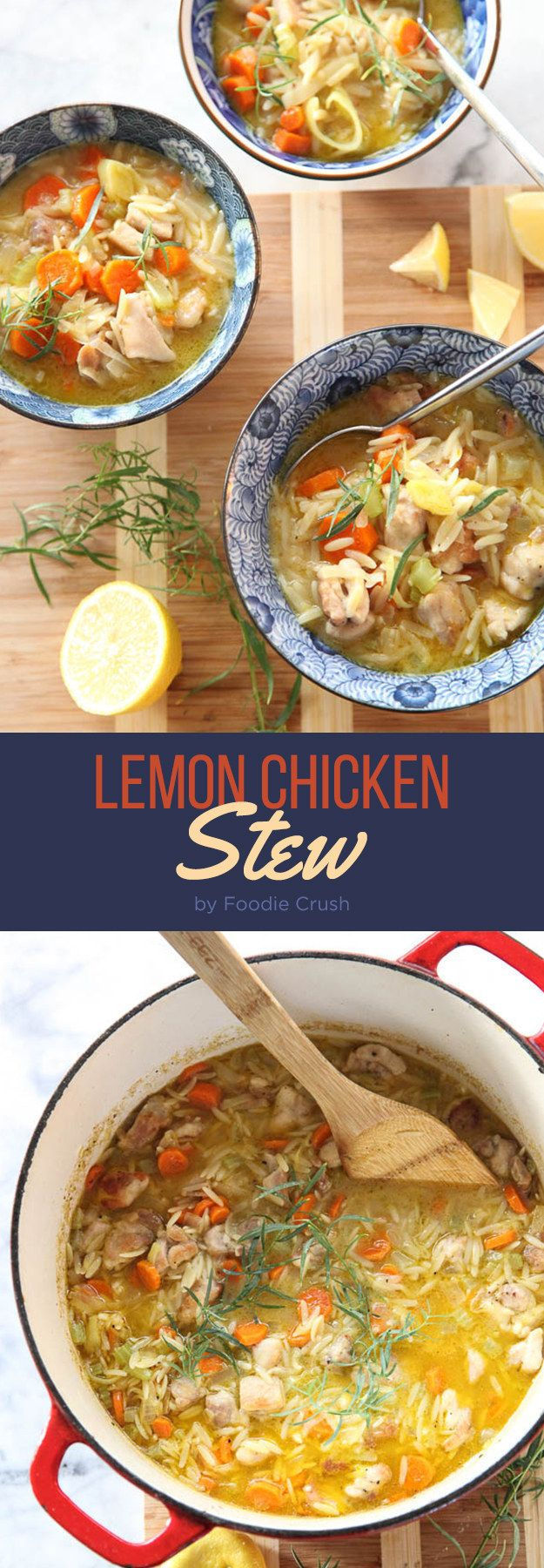 Lemon Chicken Stew   7 Easy Dinners To Make This Week
