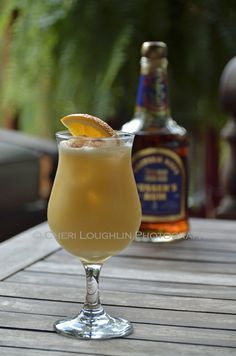 Pusser's Rum Painkiller Cocktail is made with Pusser's Rum, Pineapple Juice, Orange Juice, Cream of Coconut and a generous sprinkling of gra...