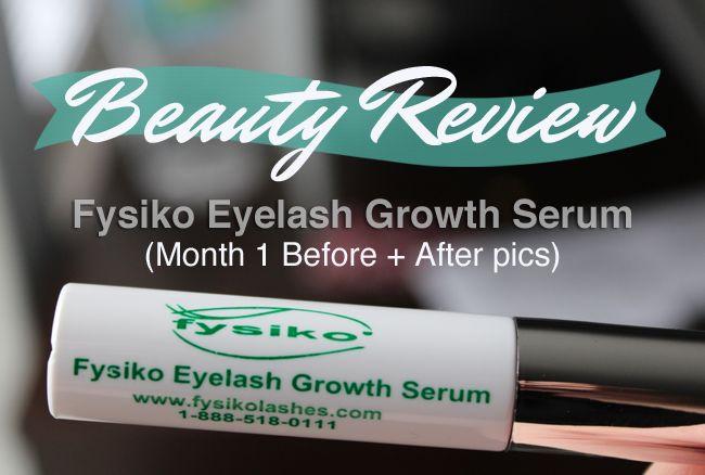 Fysiko Eyelash Growth Serum Review #LongLashes