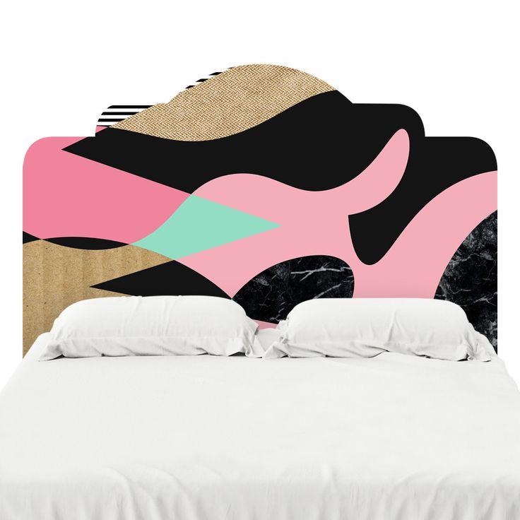 Shapes Lines & Textures Headboard Decal