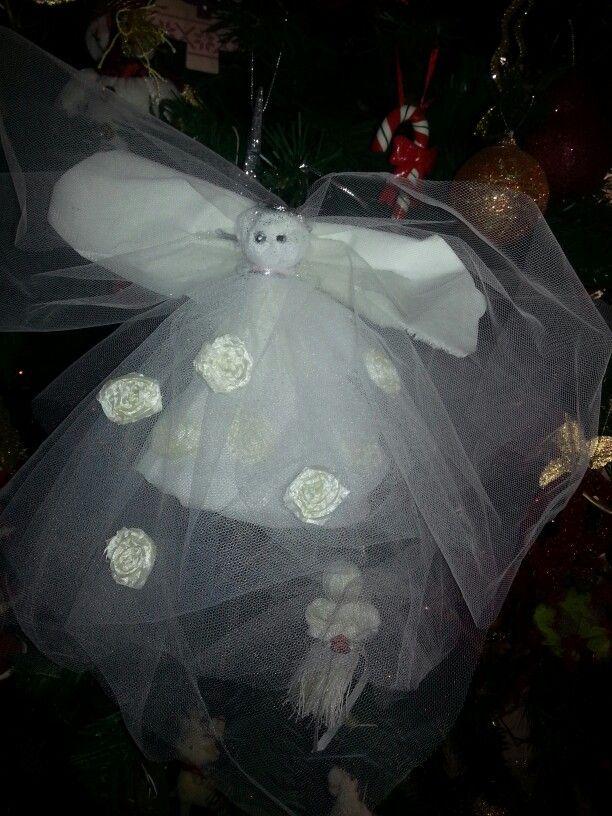 Angel spirit handmade Christmas craft