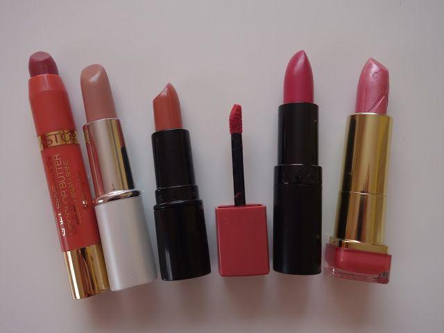 All my cosmetics: Rtěnkový speciál