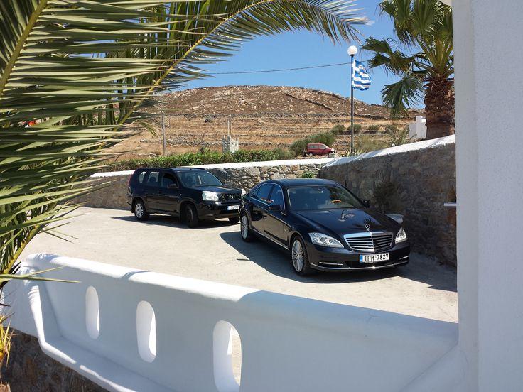 Mercedes S-Class 400 Hydrid @ Εscort car (bodyguard)