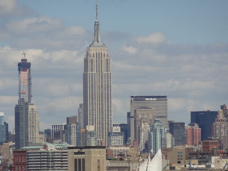 The most famous skyline in the world.