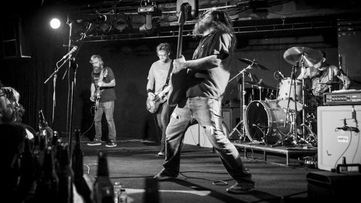 Shots: RED FANG at The Prince Bandroom, May 15th 2015 - Red Fang bring their stoner rock from Portland, Oregon to the Prince Bandroom via Cherry Rock Festival,  supported by Holy Serpent, Warped and King Of The North.  Photos by Daniel Oh. Shot for What Sound Melbourne