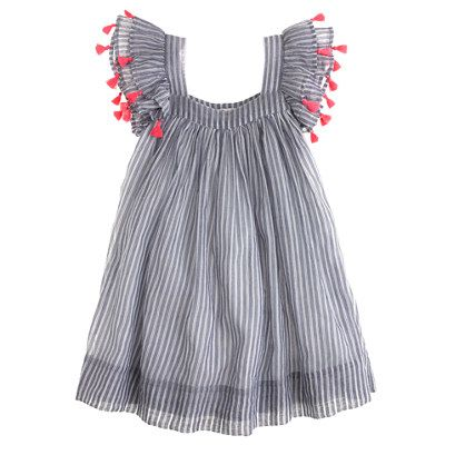 J.Crew Girls' Nellystella® Chloe dress. Oh man J. Crew is going to one day be the ruin of me. SO CUTE.