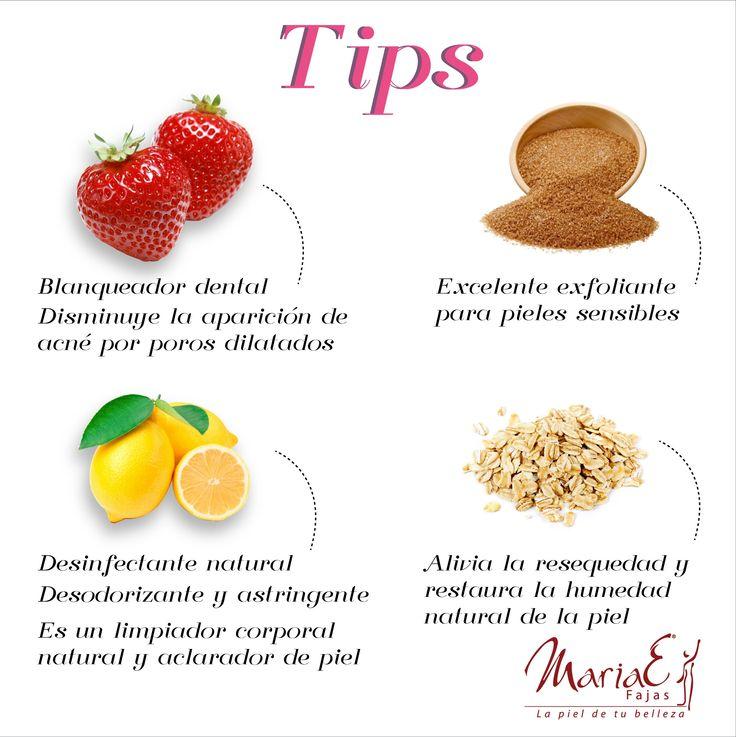 Empecemos la semana con estos tips de belleza, ponlos en práctica y verás la diferencia. ¡Fajas MariaE, La piel de tu belleza!
