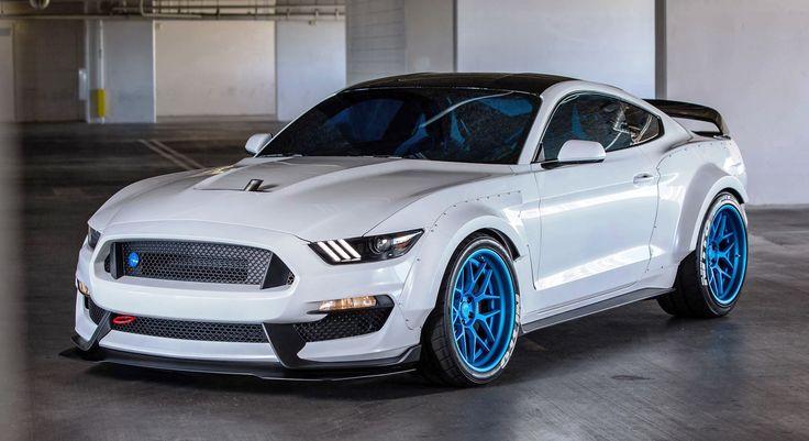 Ford SEMA 2015 Custom Mustang                                                                                                                                                      More