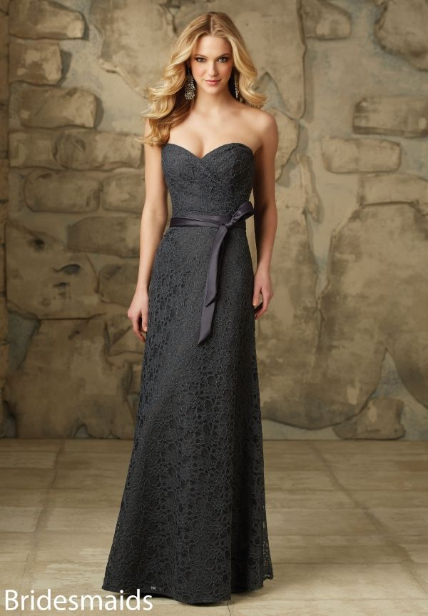 Kanten avondjurk in verschillende kleuren nu bij Pani Moda  103 Bridesmaids Dresses Lace