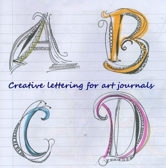 http://hubpages.com/hub/Creative-Lettering-Art-Journals