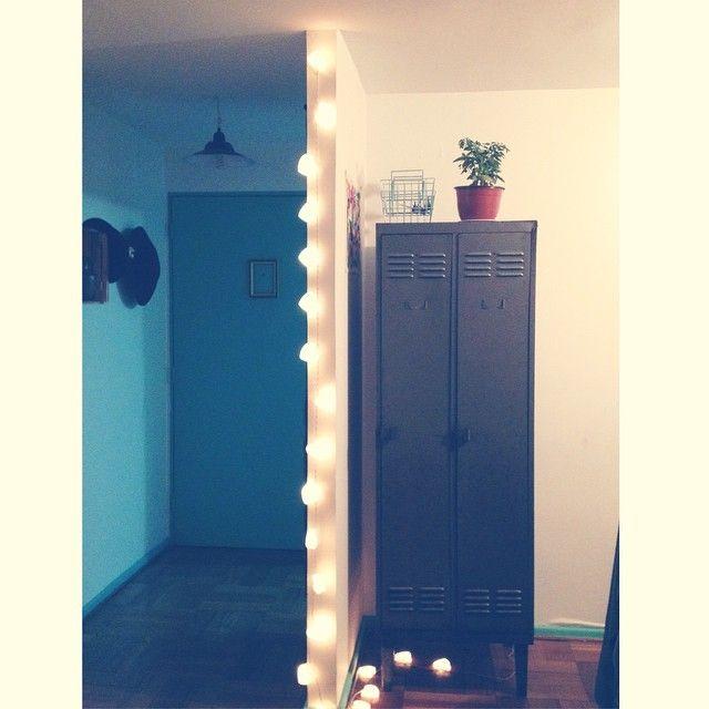 lockers y luces