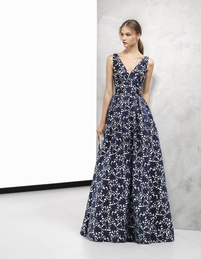 609d811e8fb7c Vestidos de fiesta Rosa Clará Cocktail 2018
