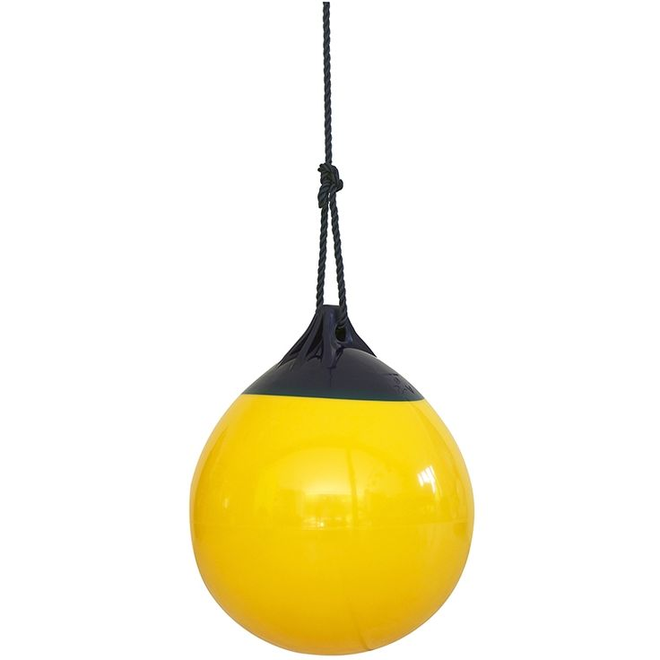 Altalena gonfiabile gialla