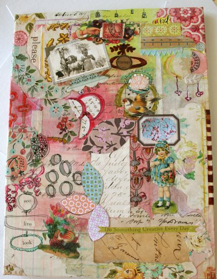 awesome!: Journals Covers, Journals Inspiration, Altered Art Books, Cute Ideas, Journals Pages, Pamgarrison, Patchwork Art Journals, Garrison Journals, Paper Collage