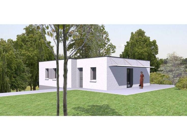 22 best maisons toit plat images on Pinterest Mobile home, Mobile