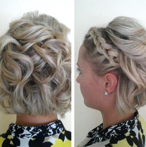 Hairstyles for Short Hair Wedding Hairstyles for short hair wedding #styles #stylish hair #frisurenhalblang #frisurenhochzeit