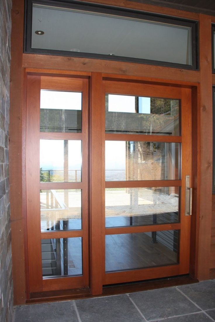 Modern glass front doors for homes - Modern Entry Doors For Home Hand Made Mountain Contemporary Entry Doors