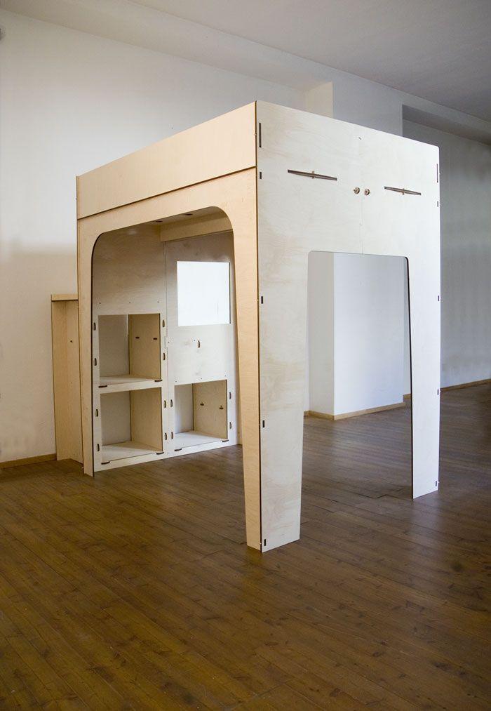 Loft bed bunk beds TOTEM - L15 TOTEM letti soppalco