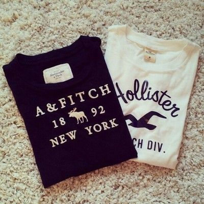 Abercrombie and Fitch and Hollister tee(s)