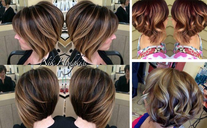 kurze Frisuren – Kurze Haarschnitte sind die perfekte Plattform für Balayage! Die Farbtechnik fügt ein   – uber frauen