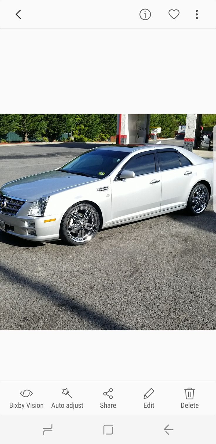 Cadillac sts on 20 giovanna