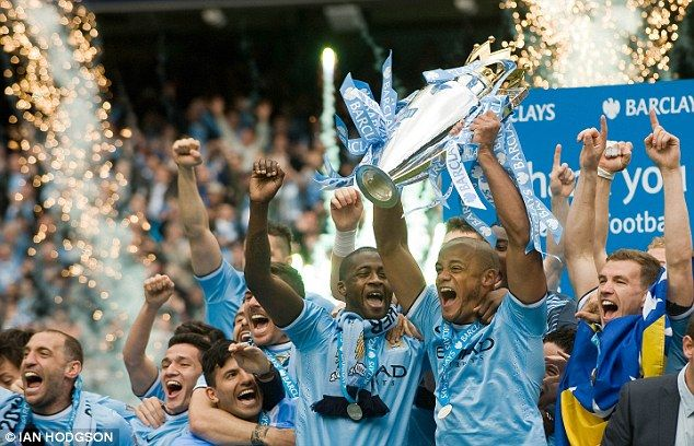 Last time out: Manchester City won the Barclays Premier League on the final day of the season in May #GC