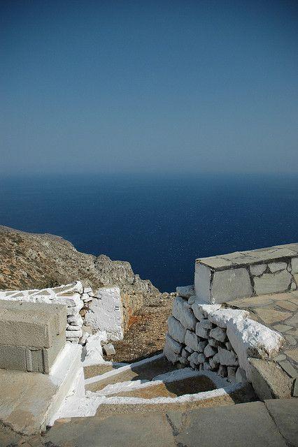 Bild von der dodekanesischen Insel Kassos...