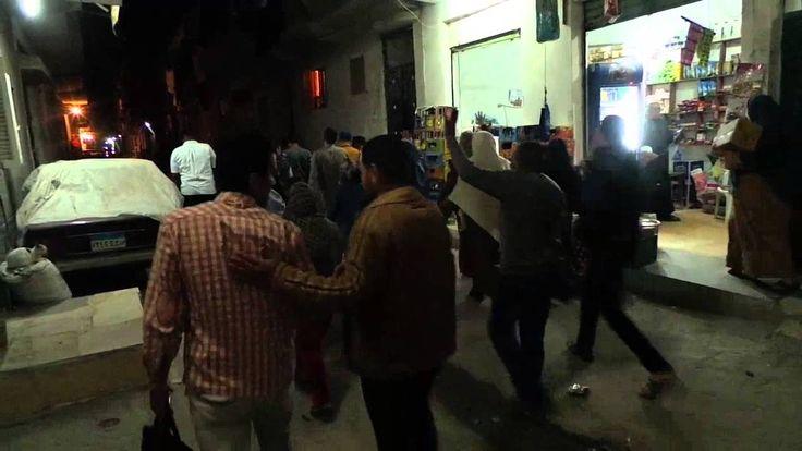قام ثوار الاسكندرية بفعالية مناهضه للانقلاب في العوايد بالأسكندرية