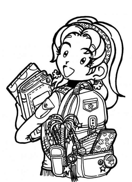 dork diaries coloring pages Pin by julia on Colorings | El diario de nikki, Libros, Diario dork diaries coloring pages