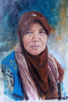 Filani Art: Portrait of Javanese women