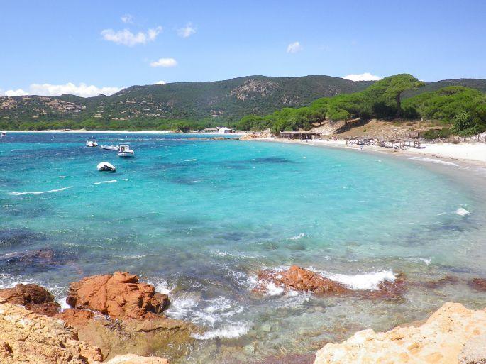 Plage de la Palombaggia, Corse