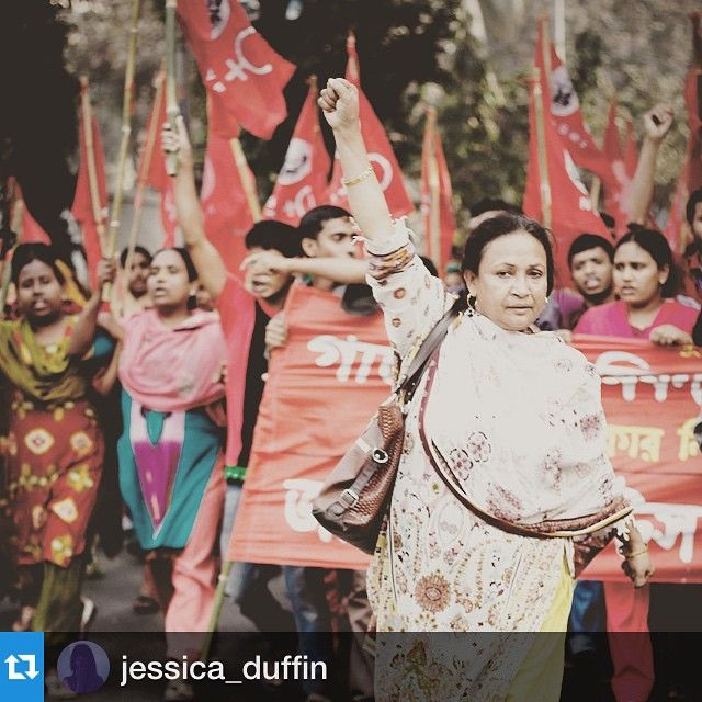#Repost @jessica_duffin with @repostapp.・・・Went to the screening of The UDITA documentary last night at the inspiring and exciting @Traid @alexnoblestudio pop up in Soho. A heart-wrenching but motivating film which pushes us to continue asking #whomademyclothes 'UDITA follows 5 years in the lives of the women at the grass roots of the garment workers struggle. From 2010, when organising in the workplace would lead to beatings, sacking and arrests; through the tragedies of Tazreen and Rana…