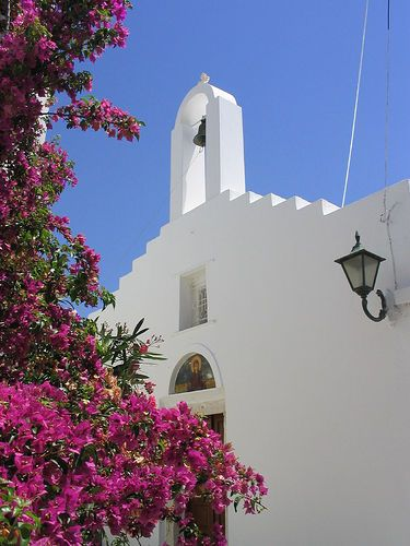 Marpissa Church, Paros, Greece /  by j0rune, via Flickr