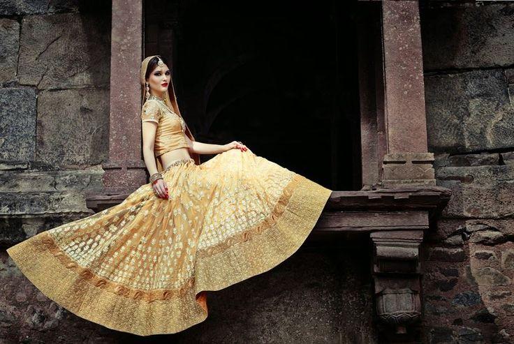 Shasha Indian Wear Lehnga 2015 for Young Girls (5)