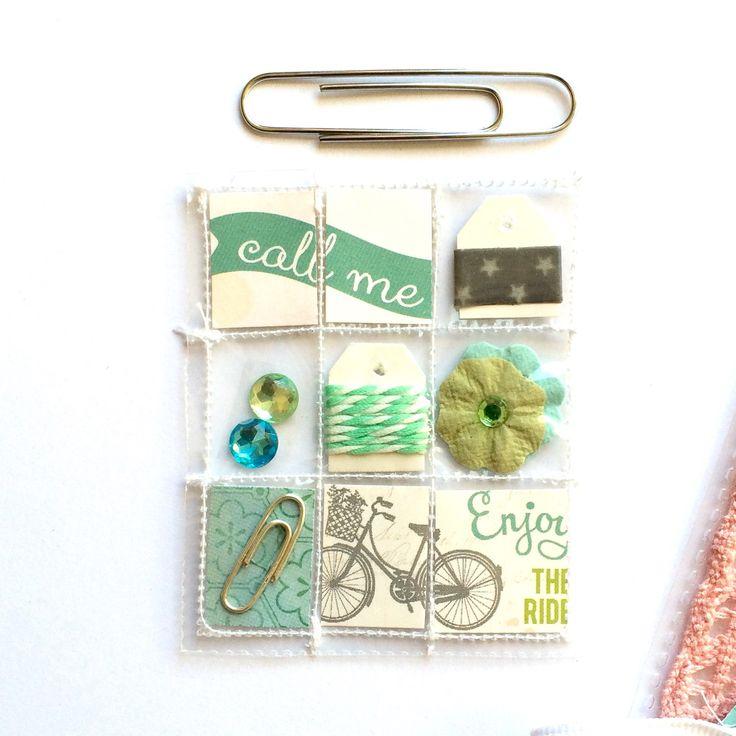 Mini Pocket Letter Planner Charm