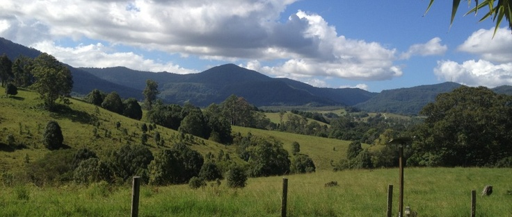 Mount Nadi. A mountain view near Nimbin, Australia - a peaceful and inspiring place to be.