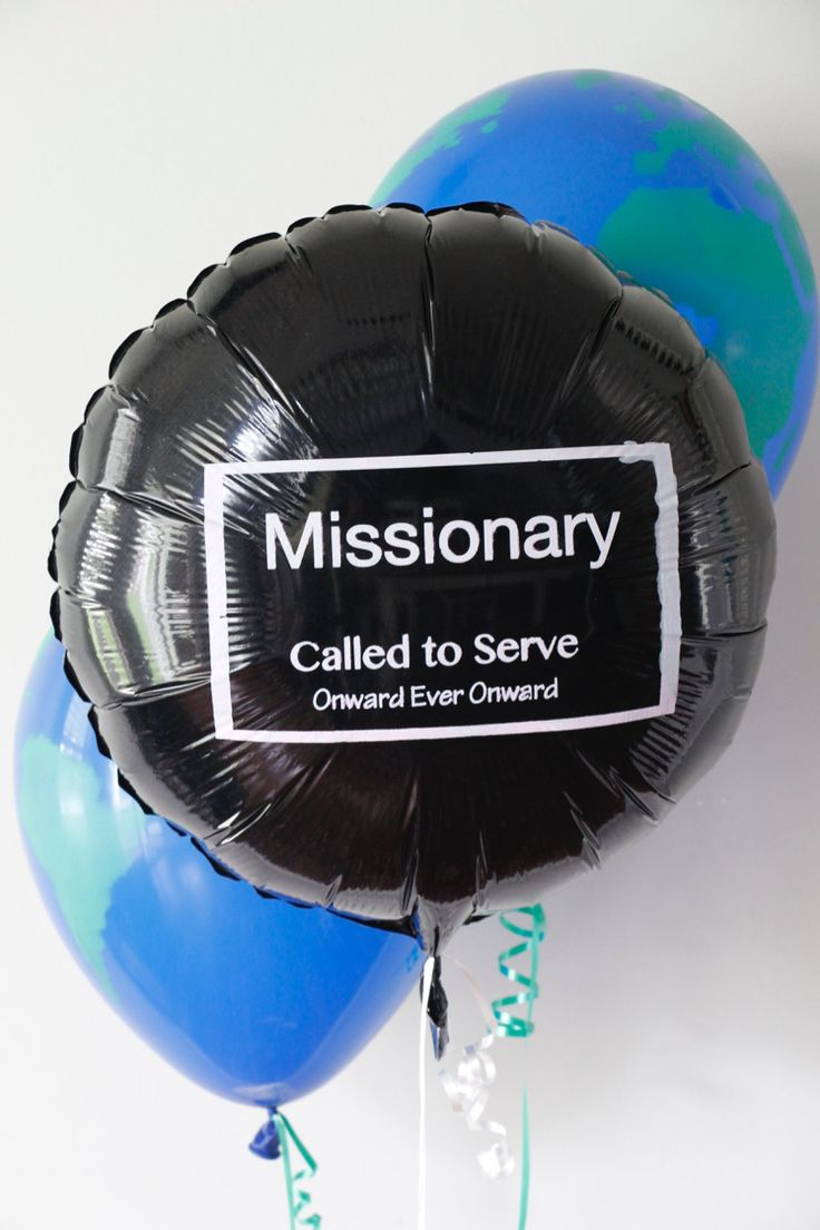 Excited to share these missionary balloons on my #etsy shop: Missionary Tag Mylar Balloon - 18 inch Round Black http://etsy.me/2EdWXhj #supplies #partygifting #mylar #missionary #missionarymomma #mylarballoon #foilballoon #lds #mormon #sister #elder #calledtoserve