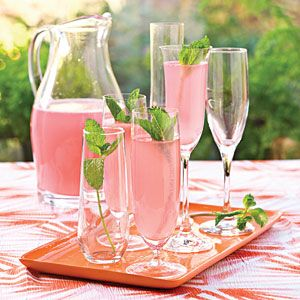 Simple Shower Recipes | Sparkling Punch | SouthernLiving.com