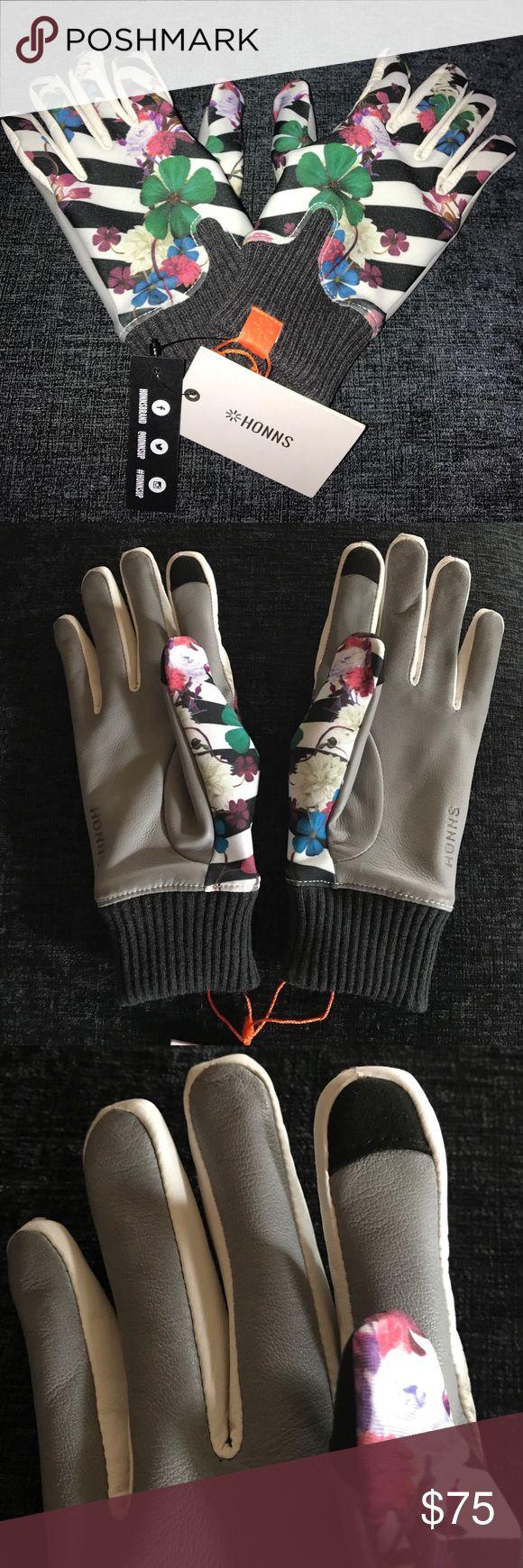Driving gloves edmonton - Honns Women S Touchscreen Gloves Warm Floral Cute