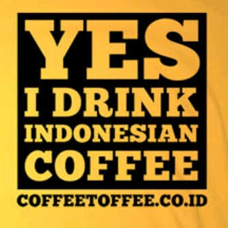 indonesian coffee...this is for my dad. Hahaha