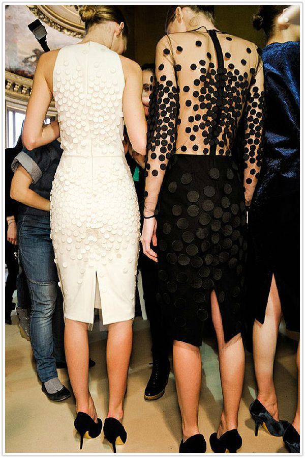 Polished Polka Dot Dresses from Stella McCartney...LOVE the white one!