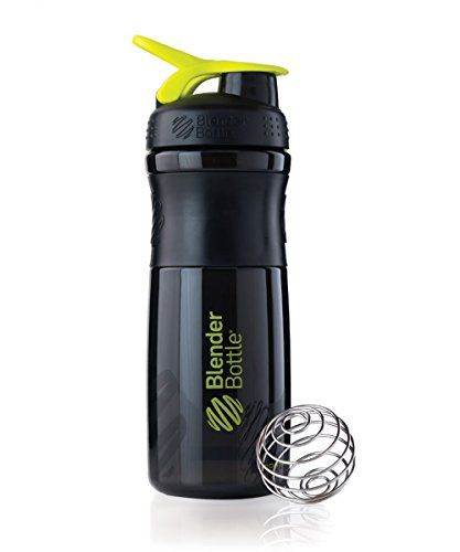 Bike Water Bottles - BlenderBottle SportMixer 28ounce BlackGreen -- Check out the image by visiting the link.