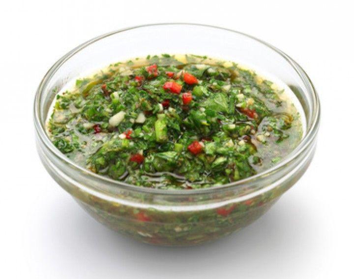 Argentinische Chimichurri-Sauce