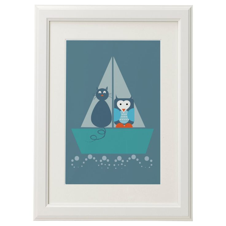 A personal favourite from my Etsy shop https://www.etsy.com/uk/listing/252233318/the-owl-and-the-pussycat-print