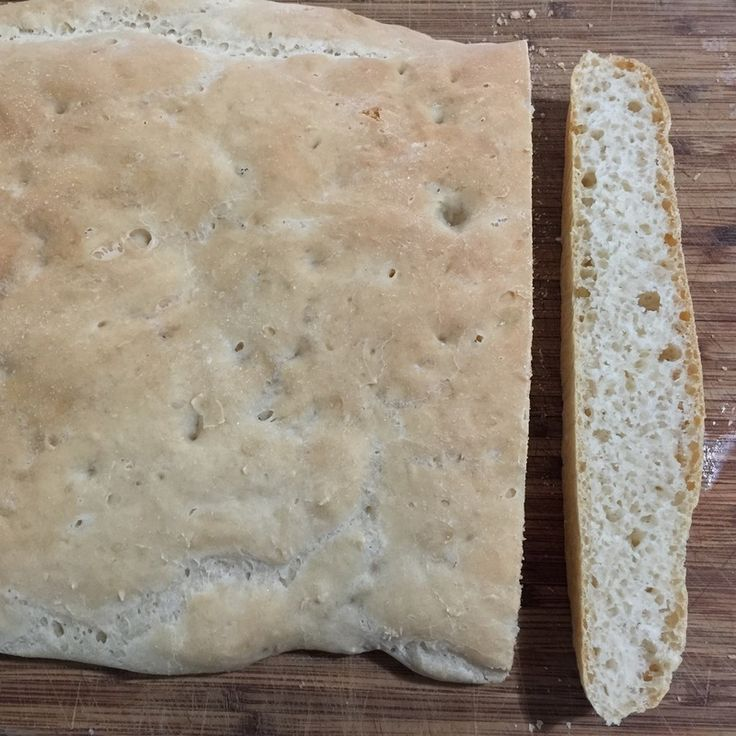 Homemade focaccia is perfect for a café style grilled sandwich or great to serve with dips. Make this a day in advance and enjoy the satisfaction of knowing you made it yourself. Your guests will not believe you made it yourself.