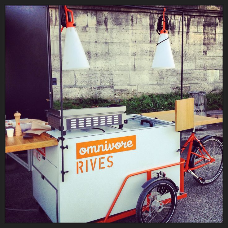 Food bike, #streetfood, Paris
